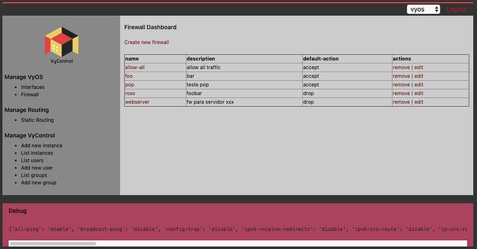 List Dashboard
